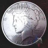 Liberty Peace Coin Concho