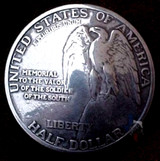 Stone Mountain Eagle Coin Concho