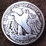 Liberty Eagle Reproduction Coin Concho