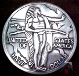 Oregon Trail Reproduction Coin Concho