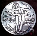 Oregon Trail Reproduction Coin Concho