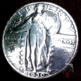 Standing Liberty Coin Concho