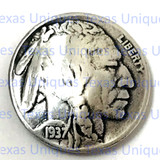 Indian Head Coin Concho
