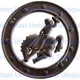Metal Art Western Saddle Bronc