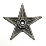 4 Inch Cast Iron Architectural Star