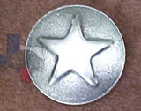 Western Decorative Star Upholstery Tacks & Nails OS Finish