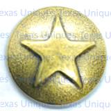 Western Decorative Star Upholstery Tacks & Nails (AB)