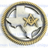 Texas Masonic Concho