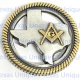Texas Masonic Concho