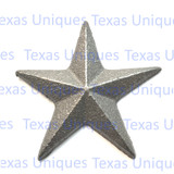 2.5 Inch Cast Iron Star With Nail