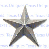 3-1/4 Inch Cast Iron Star With Nail