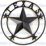 Decorative Texas Wall Star 24 Inch
