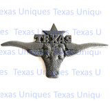 Longhorn Texas Wall Plaque