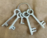 Western Cast Iron Jail Keys