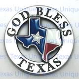 Texas Conchos GOD BLESS TEXAS Concho