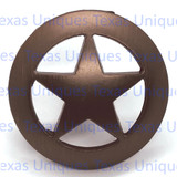 Texas Star Cabinet Knob Drawer Pulls