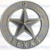 Texas Cast Iron Star Wall Metal Art Plaque