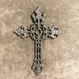 Cast Iron Christian Rustic Wall Cross