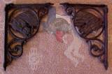 Rustic Horse Shelf Bracket