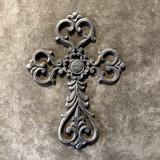 Rustic Cast Iron Crosses