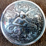 TEXAS REMEMBER THE ALAMO HALF DOLLAR CONCHO