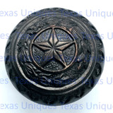 Texas Star & Seal Cabinet Hardware Knob ORB