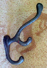 Coat & Hat Hooks Cast Iron Hall Tree Hook