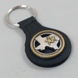 Texas Masonic Key Fob Black