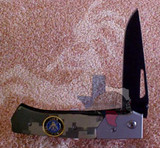 Best Quality Stainless Steel Blade - Navy Two-Tone Camouflage Gray