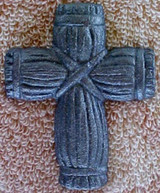 Christian Wall Cross With Nail Cast Iron Crosses With Nail