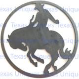 Metal Art Saddle Bronc