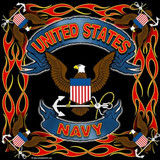 Military Bandanas United States Navy USN