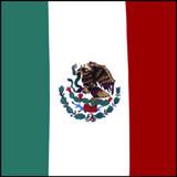 Mexico Flag Bandana