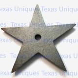 6-1/4 Inch Cast Iron Architectural Stars