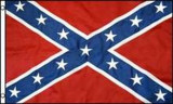 CONFEDERATE STATES OF AMERICA BATTLE FLAG (LOW-COST)