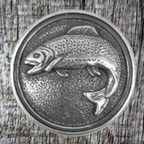 Front view of Fish Concho Wildlife Conchos