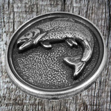angled view of Fish Concho Wildlife Conchos