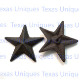2.5 Inch Rustic Cast Iron Star With Nail