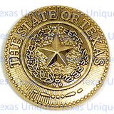"Texas State Seal 3/4"" Conchos"