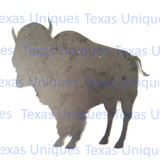 Wildlife Metal Art Buffalo Cutout