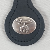 Shriner Key Fob Black