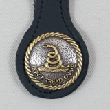 DON'T TREAD ON ME KEY FOB BLACK