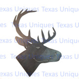 Wildlife Metal Art Deer Silhouette