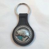 Wide Mouth Bass Wildlife Key Fobs