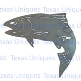 Fish Trout Metal Cutout Wall Art