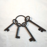 Rustic Old West Jail Keys