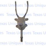 Rustic Lodge Decor Metal Elk Coat Hook