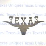 Texas Longhorn Metal Art Cut Out