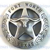 FORT WORTH Texas Ranger Star Longhorn Concho