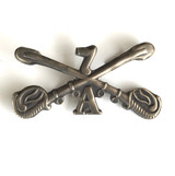 7th Calvary 7A Hat Cockade Pin/Badge/Insignia Brass Reproduction